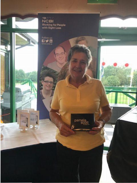 Pamela Scott raffle prize winner