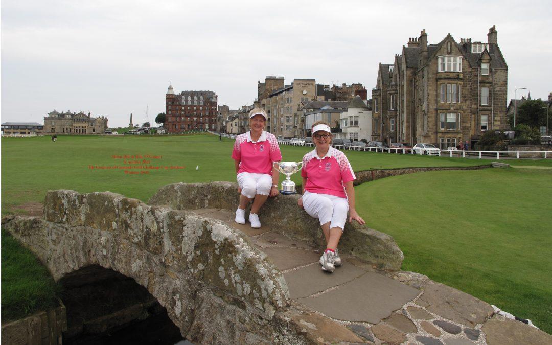 St Andrews 2020 Winners Trip
